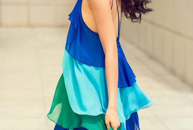váy hở lưng đẹp