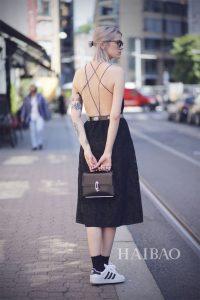 váy hở lưng