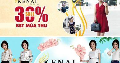 Chương trình khuyến mãi giảm giá đặc biệt của Kenai tháng 9