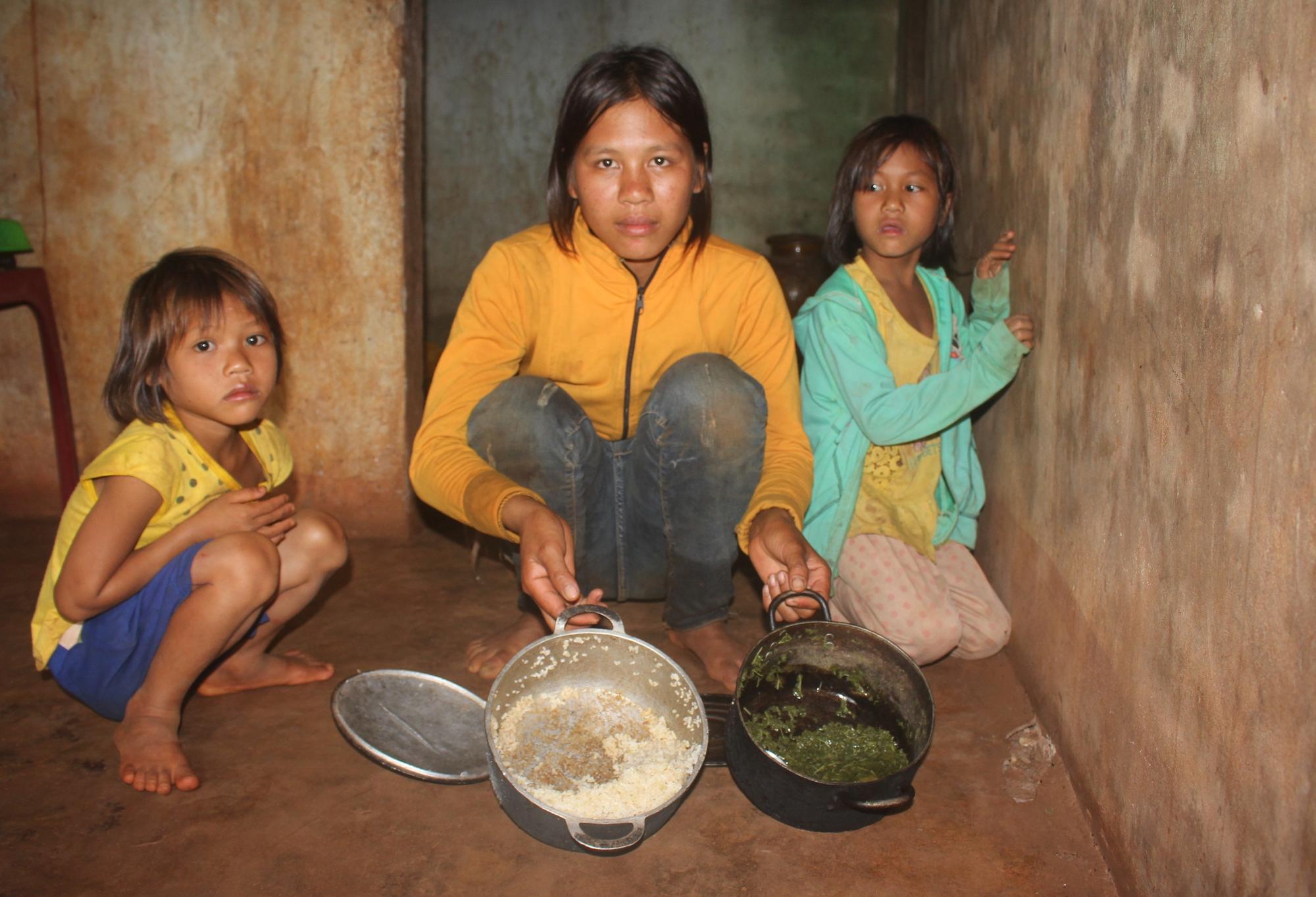 hoàn cảnh 3 chị em mồ côi, xót thương hoàn cảnh của 3 chị em mồ côi mong có bữa ăn no