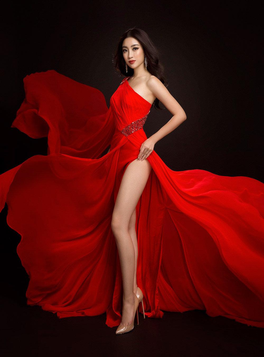Trang phục dạ hội tại miss worl của Mỹ Linh