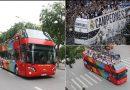 Chi 6 tỷ ra để đón U23 Việt Nam bằng xe bus mui trần diễu hành qua các tuyến phố
