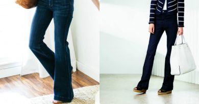 Quần jean ống loe là món đồ dành riêng cho phái đẹp mùa này