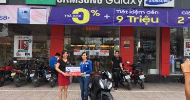 FPT Shop tặng 4 xe Honda Vision cho khách hàng thanh toán mọi hóa đ