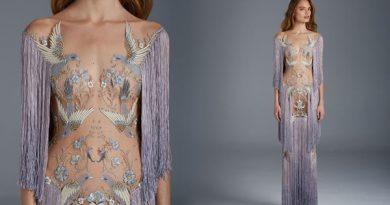 Cùng ngắm những chiếc váy cưới trong suốt, gợi cảm của những nàng dâu Việt