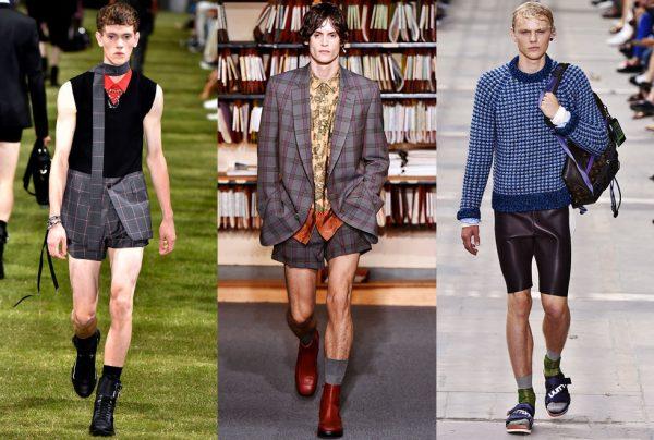 xu hướng thời trang nam xuân hè 2018