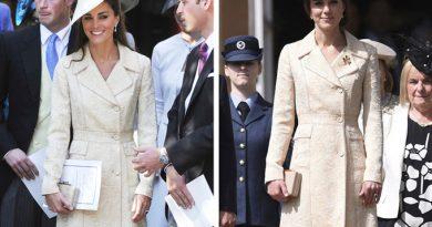 Công nương Kate Middleton biến tấu linh hoạt mỗi lần diện lại đồ cũ