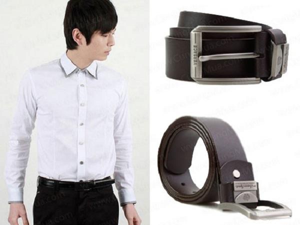 Chọn thắt lưng da nam với trang phục : Chất liệu và cách phối
