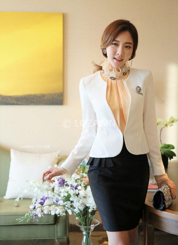 Áo vest nữ trẻ trung không cổ