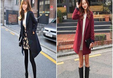 Bí quyết mặc áo dạ sao cho đẹp trong mùa lạnh như sao Hàn