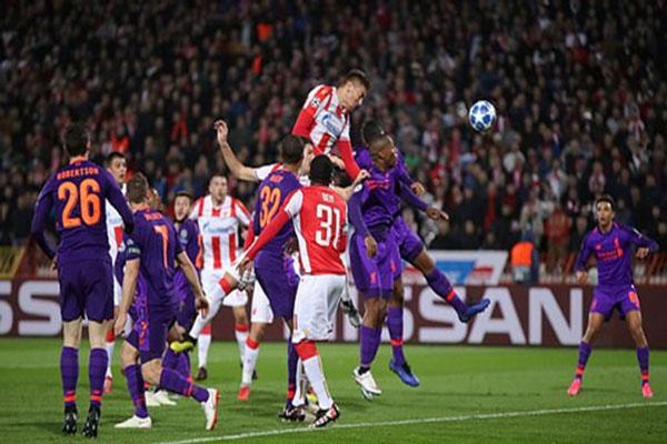 Crvena Zvezda 2-0 Liverpool