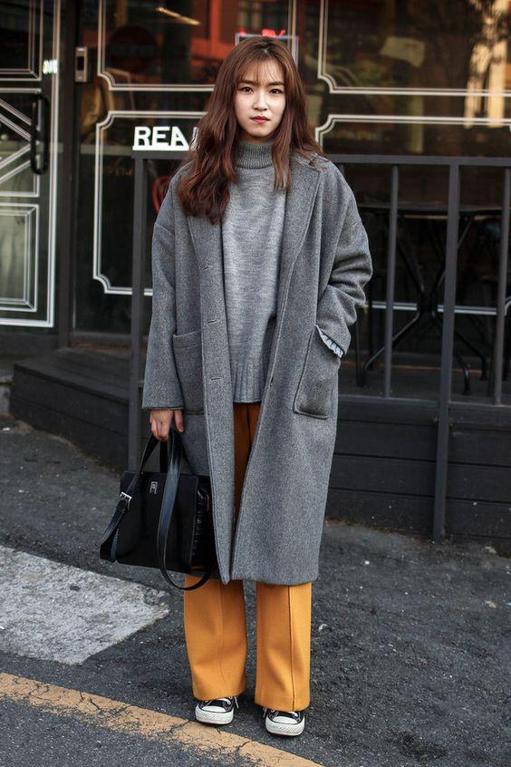 Áo khoác dài là lựa chọn hoàn hảo - bí quyết phối đồ mùa đông