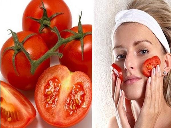 Công dụng khi đắp mặt nạ cà chua