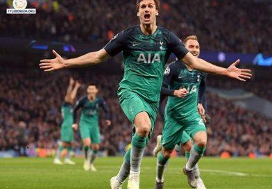 """Cú đúp bàn thắng của """"Ronaldo Châu Á"""" giúp Tottenham vào bán kết Cup C1"""