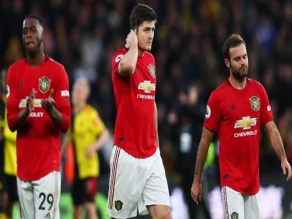 Hệ quả khi Man Utd thua Watford