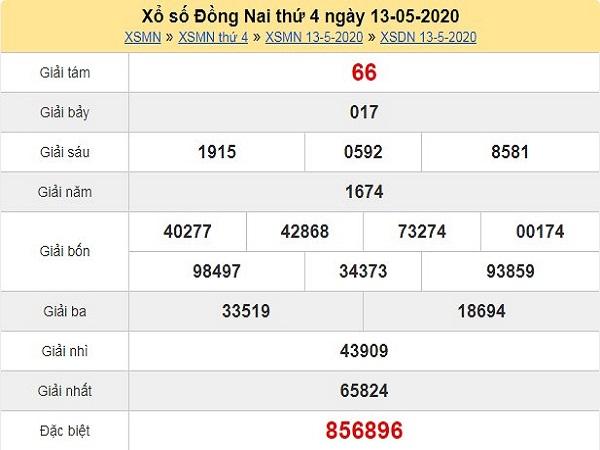 Phân tích KQXSDN- kết quả xổ số đồng nai ngày 20/05 chuẩn xác