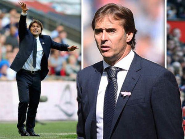 Tin bóng đá trưa 21/8: Conte - Lopetegui và trận chiến thay lời tuyên ngôn