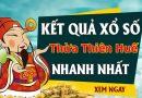 Soi cầu XS Thừa Thiên Huế chính xác thứ 2 ngày 28/09/2020