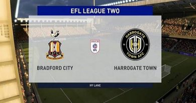 Nhận định Bradford City vs Harrogate 01h45, 13/10 - Hạng 3 Anh