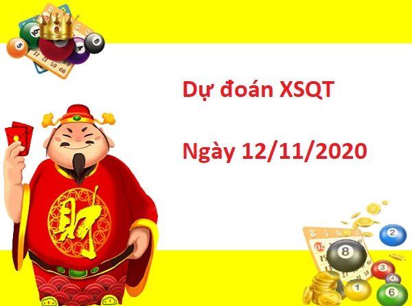 Dự đoán XSQT 12/11/2020 hôm nay - Dự đoán xổ số Quảng Trị hôm nay thứ 5 ngày 12/11/2020 được các chuyên gia nghiên cứu phân tích và đánh giá dự báo dựa trên bảng kết quả ngày mở thưởng trước đó. Trước tiên mời các bạn cùng xem lại bảng kết quả chiều tối ngày hôm thứ 5 ngày 5/11/2020 Thống kê xổ số SXQTRI