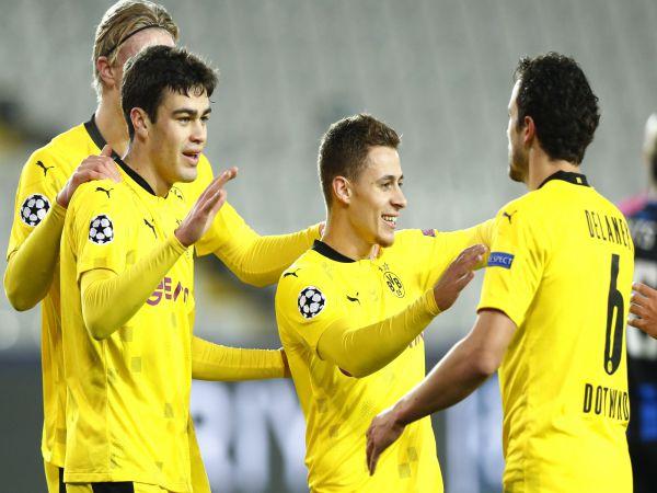 Tin thể thao trưa 25/11: Dortmund và Lazio cùng thắng, Haaland lập kỳ tích