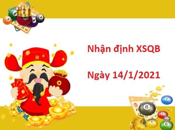 Nhận định XSQB 14/1/2021