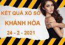 Thống kê xổ số Khánh Hòa thứ 4 ngày 24/2/2021