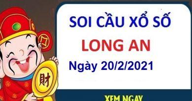 Soi cầu XSLA ngày 20/2/2021