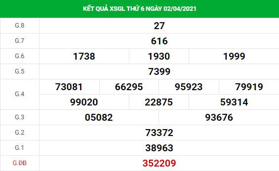 Soi cầu dự đoán XS Gia Lai Vip ngày 09/04/2021