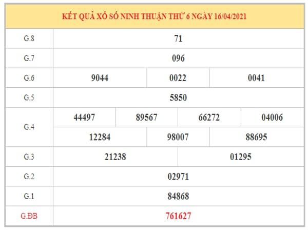 Nhận định KQXSNT ngày 23/4/2021 dựa trên kết quả kì trước