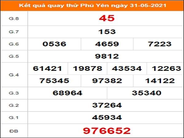 Quay thử xổ số Thừa Thiên Huế ngày 31/5/2021