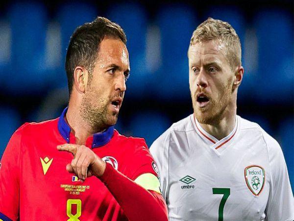 Soi kèo Andorra vs Ireland, 23h00 ngày 3/6 - Giao Hữu ĐTQG