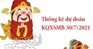 Thống kê dự đoán KQXSMB 30/7/2021