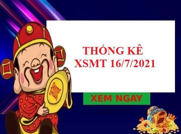 Thống kê chi tiết XSMT 16/7/2021
