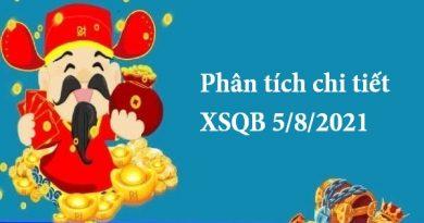Phân tích chi tiết XSQB 5/8/2021