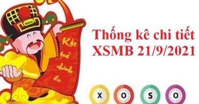 Thống kê chi tiết XSMB 21/9/2021